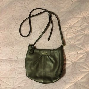 Coach Crossbody Olive Brown Purse